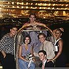 Mark-Paul Gosselaar, Tiffani Thiessen, Dustin Diamond, Mario Lopez, Spencer Rochfort, and Lark Voorhies in Saved by the Bell: Wedding in Las Vegas (1994)