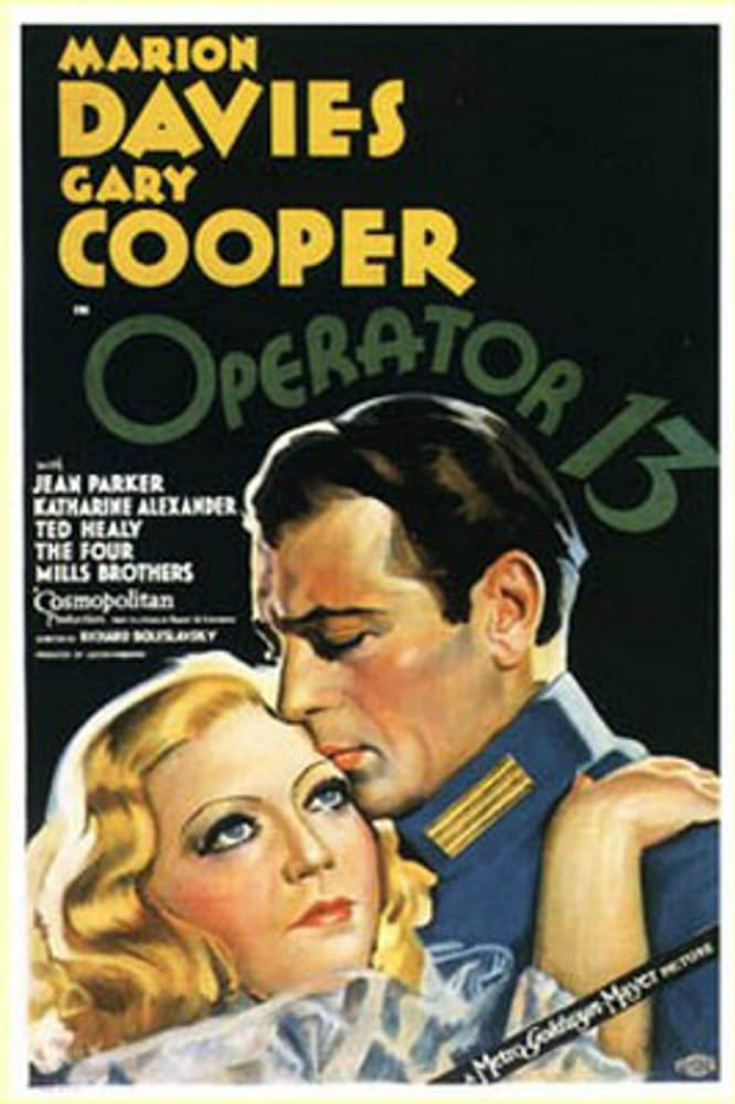 Gary Cooper and Marion Davies in Operator 13 (1934)