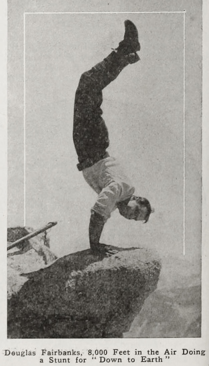 Douglas Fairbanks in Down to Earth (1917)