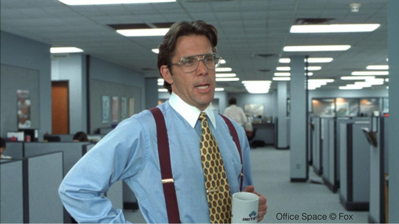 Gary Cole in Office Space (1999)