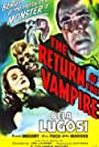 Bela Lugosi and Nina Foch in The Return of the Vampire (1943)