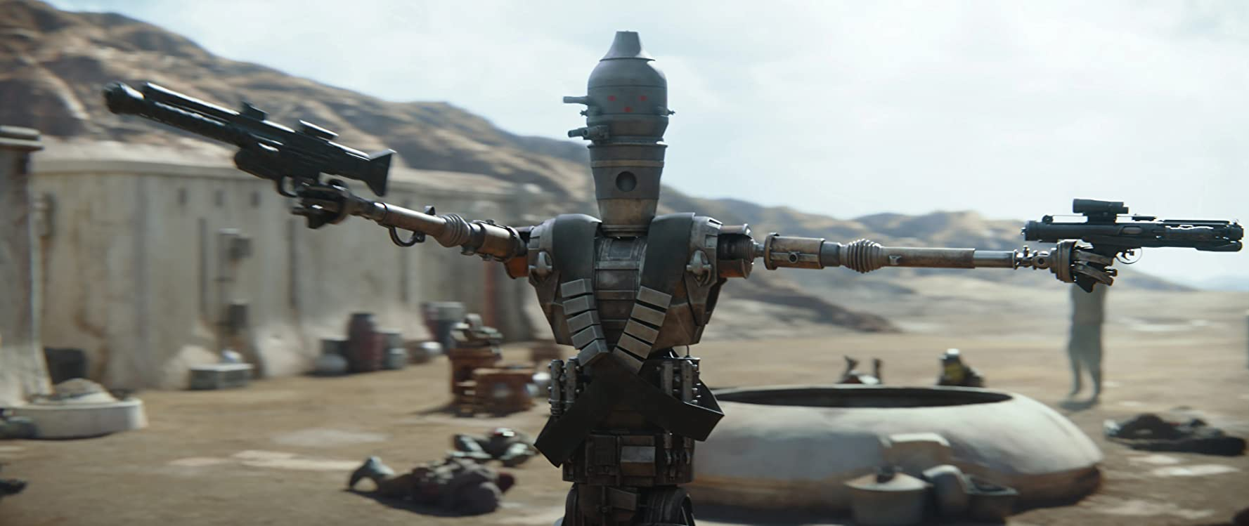 Taika Waititi and Rio Hackford in The Mandalorian (2019)