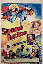 Superman Flies Again Poster