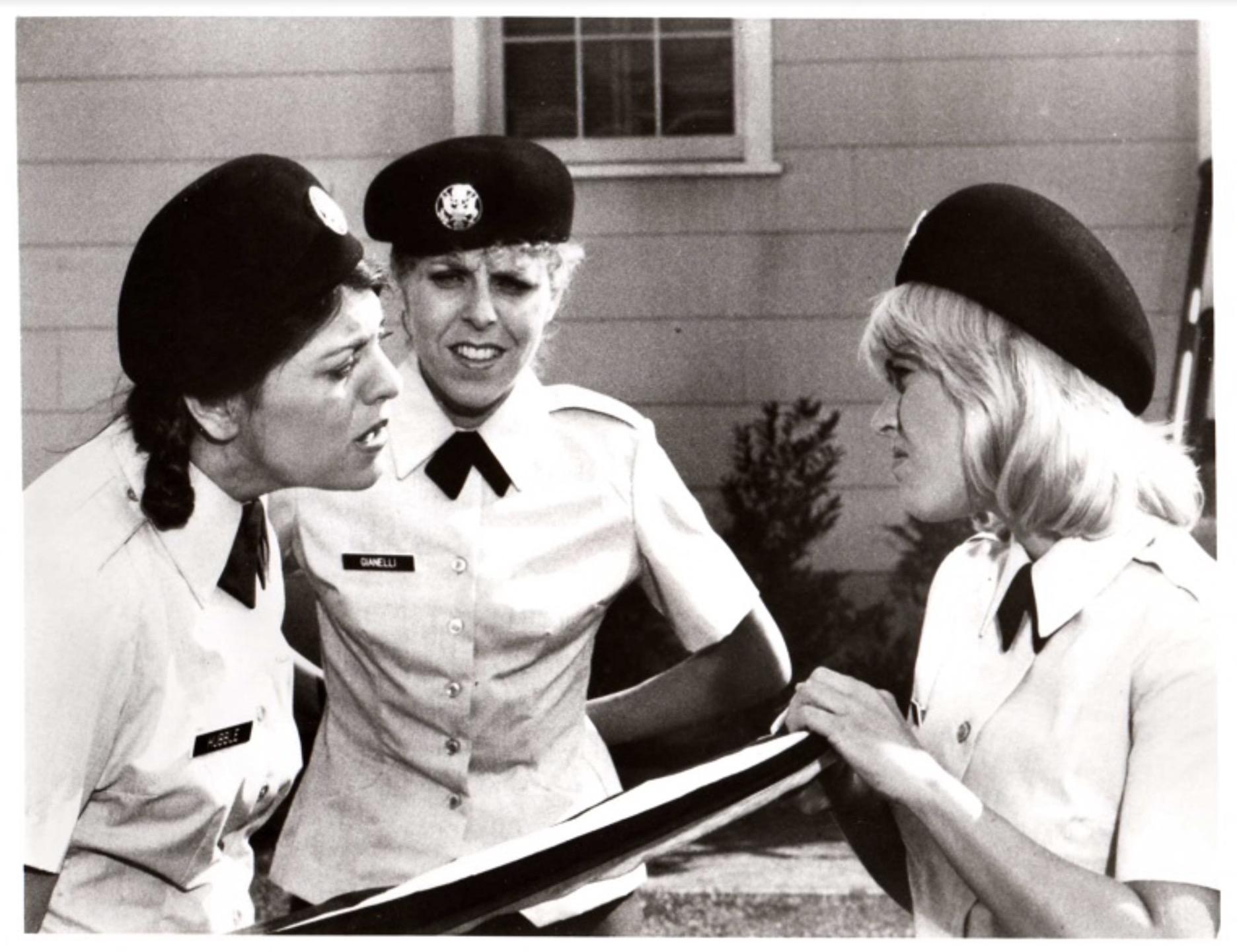Lorna Patterson, Lisa Raggio, and Lucy Webb in Private Benjamin (1981)