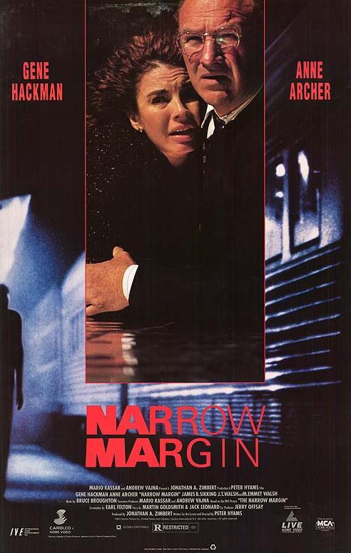 Anne Archer and Gene Hackman in Narrow Margin (1990)