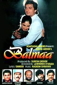 Ayesha Jhulka and Avinash Wadhawan in Balmaa (1993)
