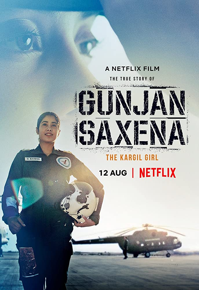 Gunjan Saxena (2020) NF WEB-DL Multi Audios [Hindi – Tamil – Telugu – English] x264 AAC Esub