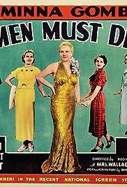 Women Must Dress Poster