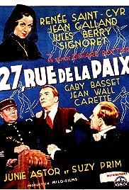 27 rue de la Paix Poster