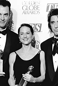 Tom Hanks, Al Pacino, and Holly Hunter in The 51st Annual Golden Globe Awards (1994)