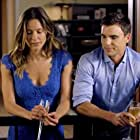 Colin Egglesfield and Jill Wagner in Autumn Dreams (2015)