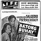 Paraluman and Leopoldo Salcedo in Batong Buhay (sa Sentral Lusan) (1950)