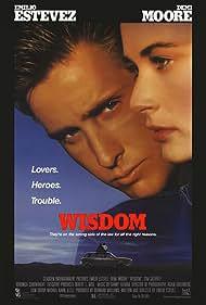 Demi Moore and Emilio Estevez in Wisdom (1986)