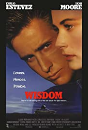 Wisdom (1986) Poster - Movie Forum, Cast, Reviews