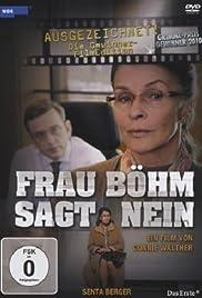 Frau Böhm sagt Nein Poster