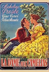 Roland Alexandre and Micheline Presle in La dame aux camélias (1953)