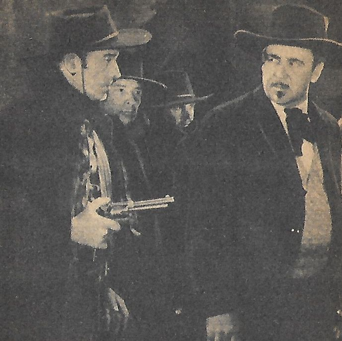 Noah Beery, Tommy Coats, Jim Corey, and Jack Mower in Fighting with Kit Carson (1933)