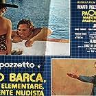 Pinuccio Ardia, Valeria Fabrizi, and Renato Pozzetto in Paolo Barca, maestro elementare, praticamente nudista (1975)