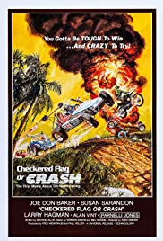 Checkered Flag or Crash Poster