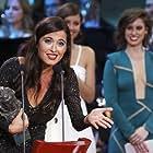 Michelle Jenner, Manuela Vellés, and Sílvia Pérez Cruz in Premios Goya 31 edición (2017)