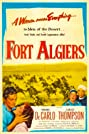 Fort Algiers (1953) Poster