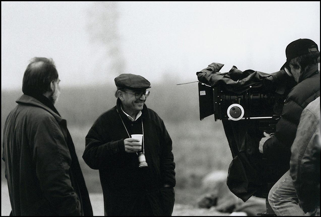 Theodoros Angelopoulos and Bruno Ganz in Mia aioniotita kai mia mera (1998)