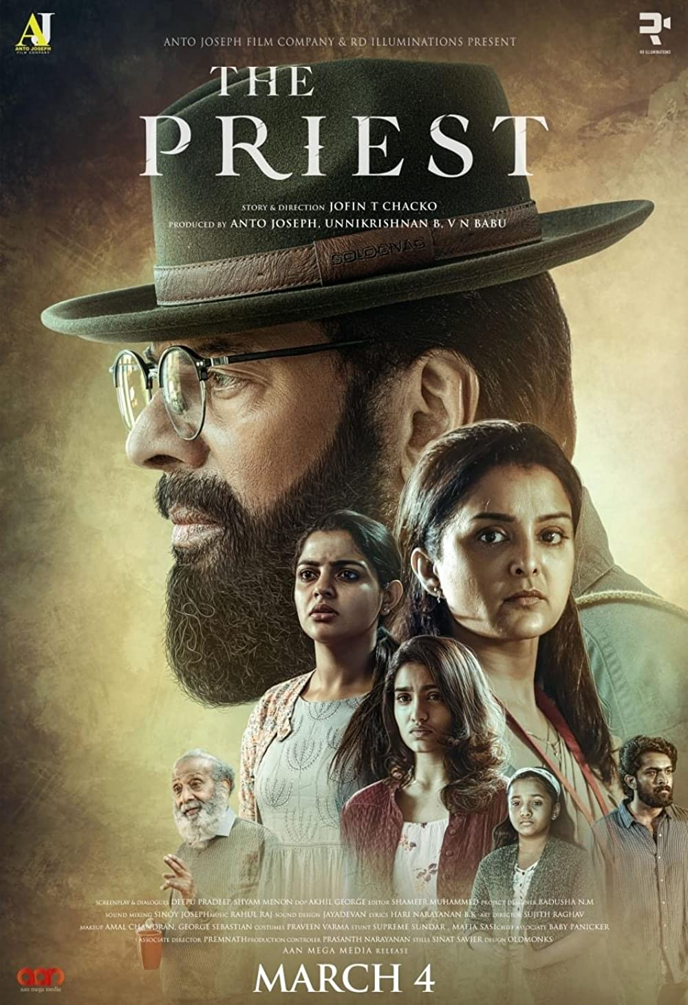 The Priest 2021 Malayalam 405MB HDRip ESub Download