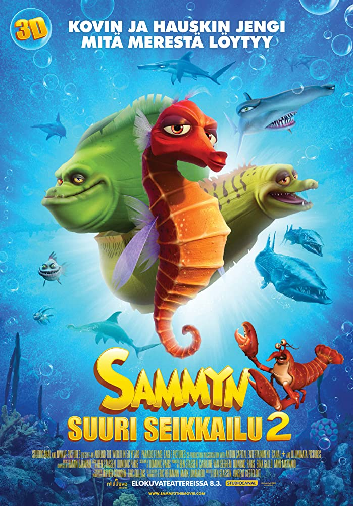 A Turtle's Tale 2: Sammy's Escape from Paradise (2012) Hindi Dubbed