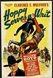 Hoppy Serves a Writ Poster