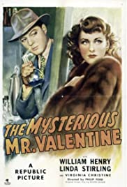 The Mysterious Mr. Valentine Poster