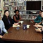 Christie Vozniak, Julie Jones Ivey, Ava Davis, Andy Fleming, Jasmine Waters, and Aria Marra in Vera's Workplace Sensitivity Training (2018)