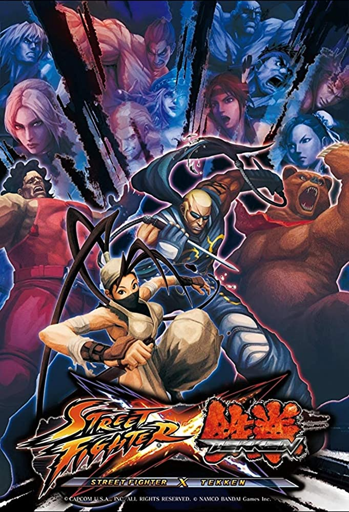 Manuals & Guides 2008 Capcom Street Fighter Iv Video Poster