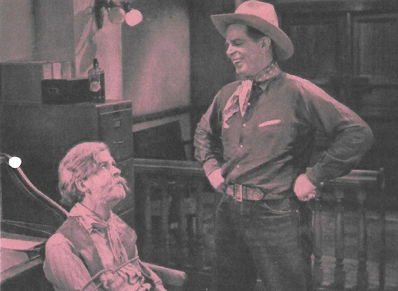 Hoot Gibson and George 'Gabby' Hayes in Swifty (1935)