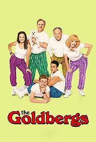 George Segal, Jeff Garlin, Wendi McLendon-Covey, Troy Gentile, Hayley Orrantia, and Sean Giambrone in The Goldbergs (2013)