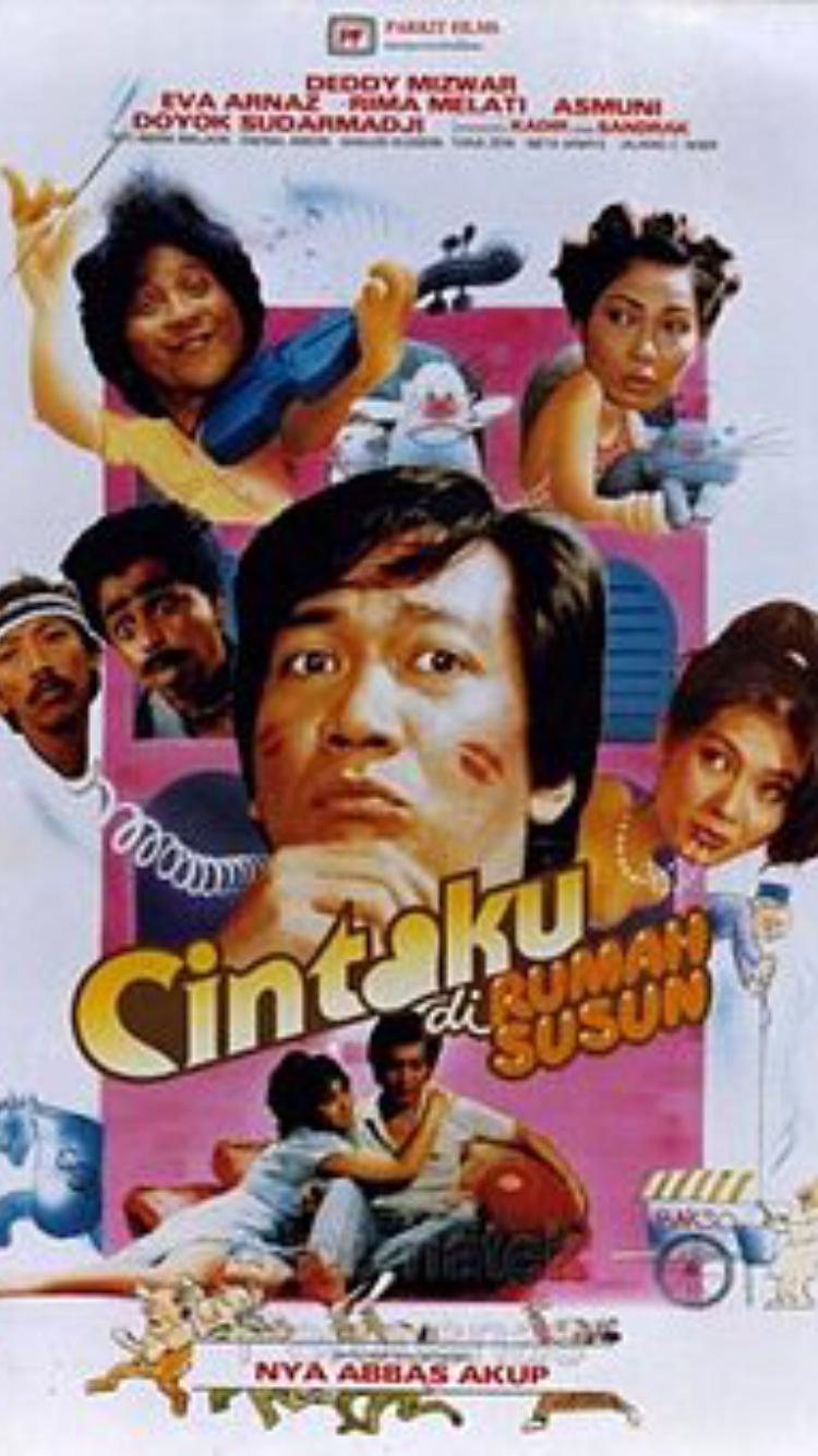 Cintaku di Rumah Susun ((1987))
