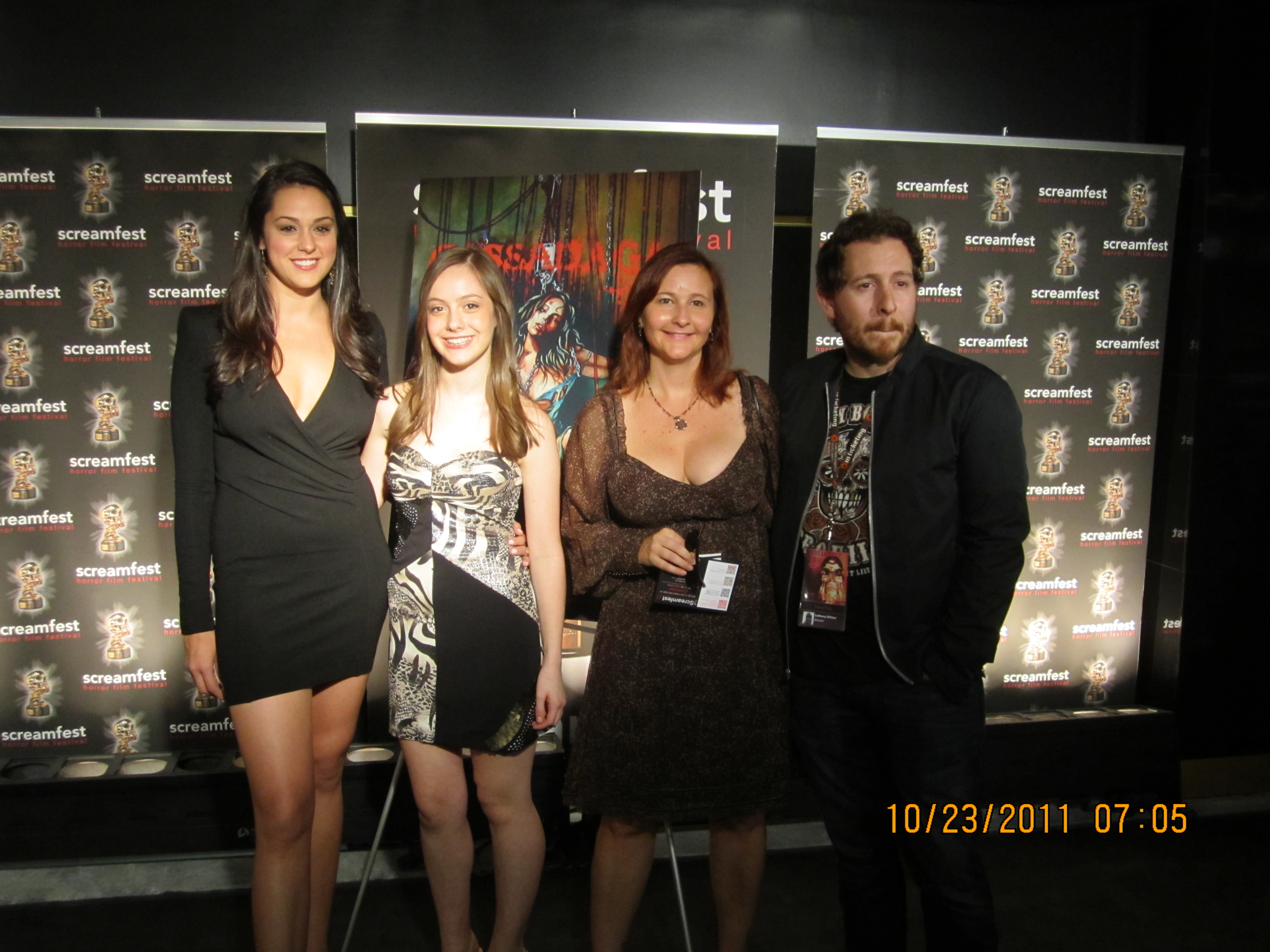 World Premiere of 'Cassadaga' with Actors Kelen Coleman (Lily), Sarah Sculco (Michelle) and Director, Anthony DiBlasi