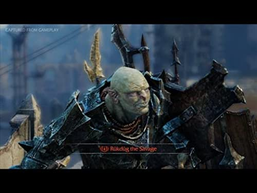 Middle-Earth: Shadow Of Mordor (VG)