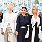 Chloë Sevigny, Tilda Swinton, and Selena Gomez at an event for The Dead Don't Die (2019)