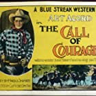 Art Acord, Rex the Dog, and Raven the Horse in The Call of Courage (1925)