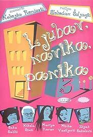 Ljubav, navika, panika Poster