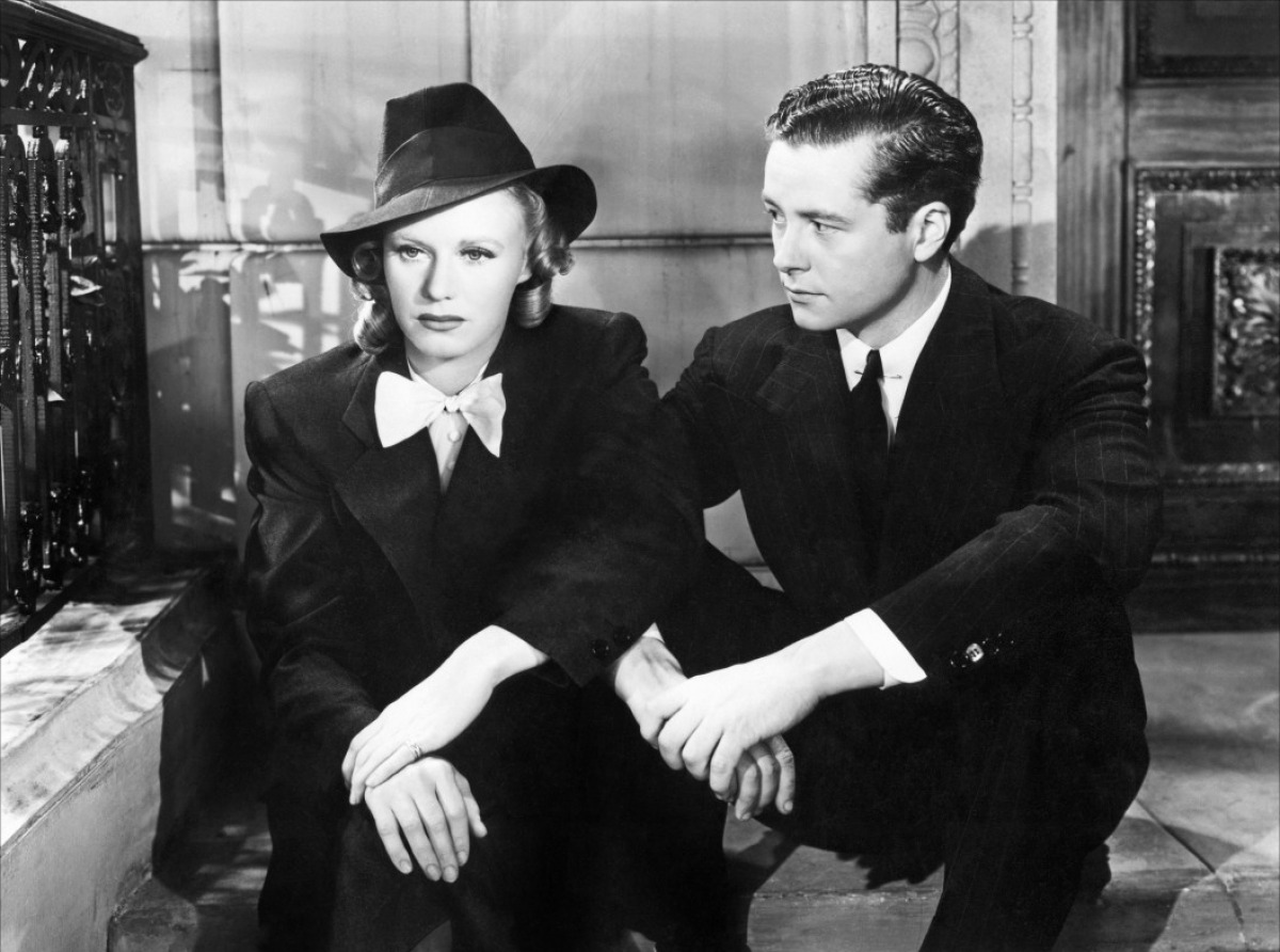 Ginger Rogers and Tim Holt in Fifth Avenue Girl (1939)