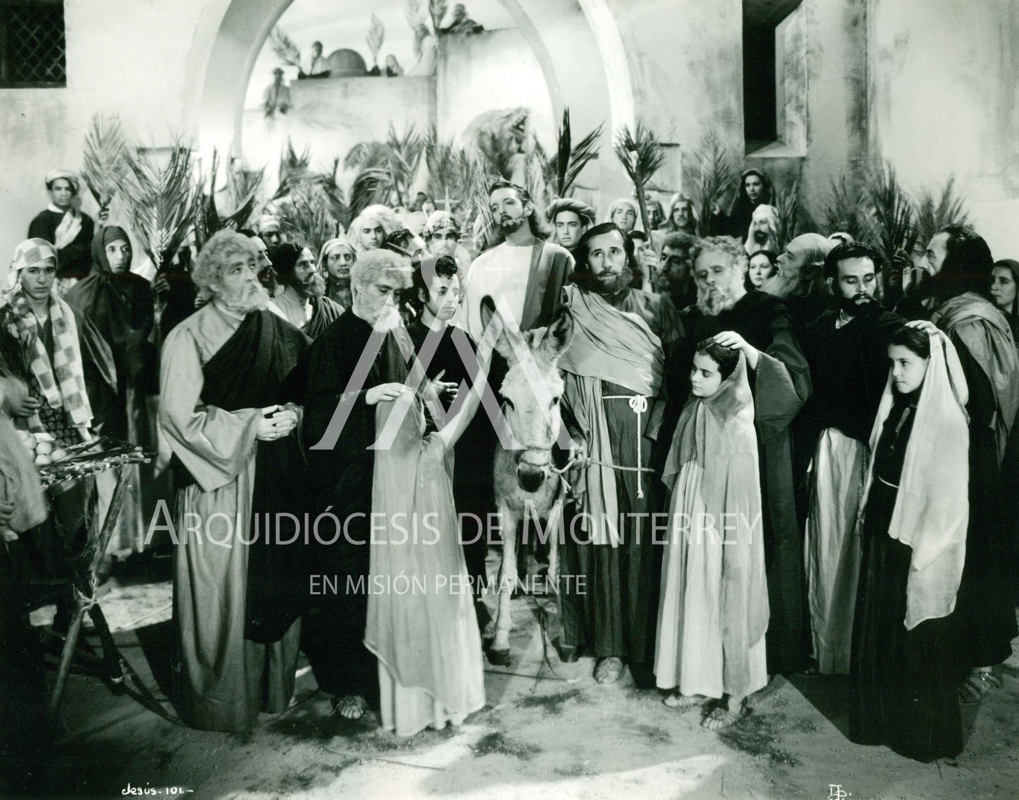 José Cibrián, Enrique García Álvarez, Ramón G. Larrea, Francisco Reiguera, Manuel Santamaría, and Armando Velasco in Jesús de Nazareth (1942)