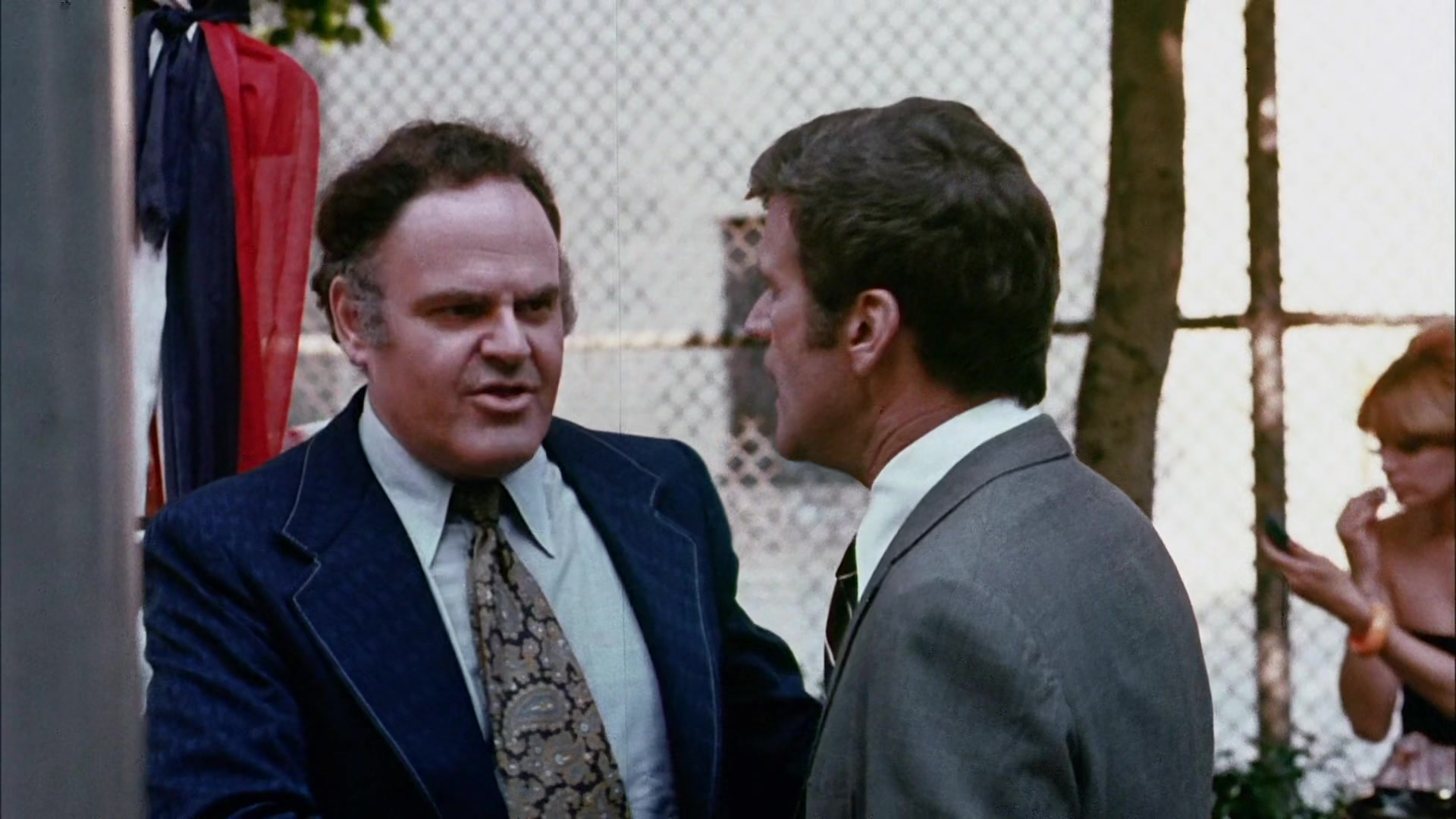 George S. Irving and Don Murray in Deadly Hero (1975)