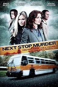 Rosa Blasi, Brian Krause, Allison Lange, and Brigid Brannagh in Next Stop Murder (2010)