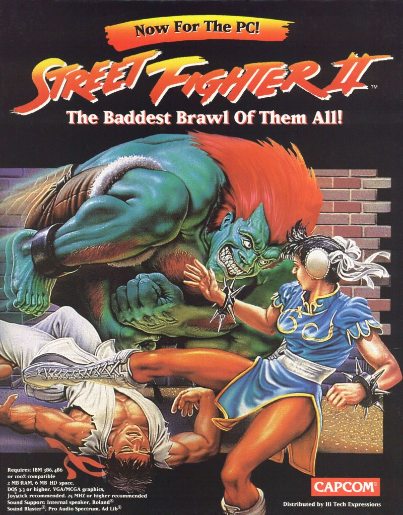 Street Fighter II: The World Warrior (Video Game 1991) - IMDb