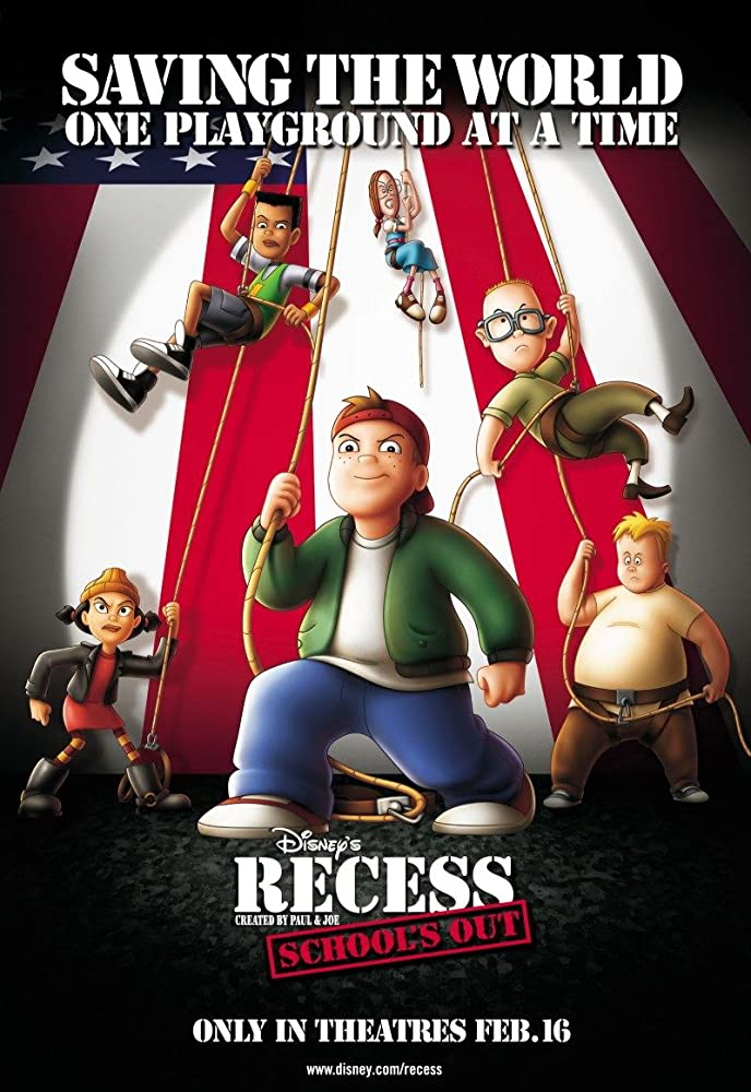 Recess: Schools Out 2001 Movie BluRay Dual Audio [English+Hindi] 300MB