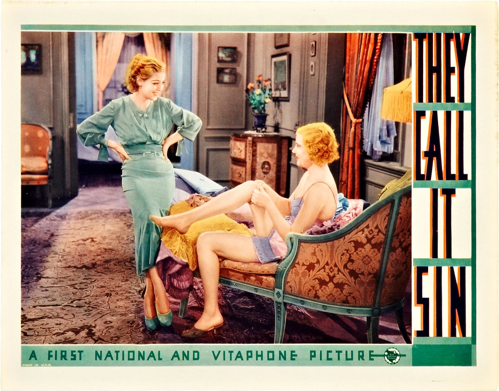 Una Merkel and Loretta Young in They Call It Sin (1932)