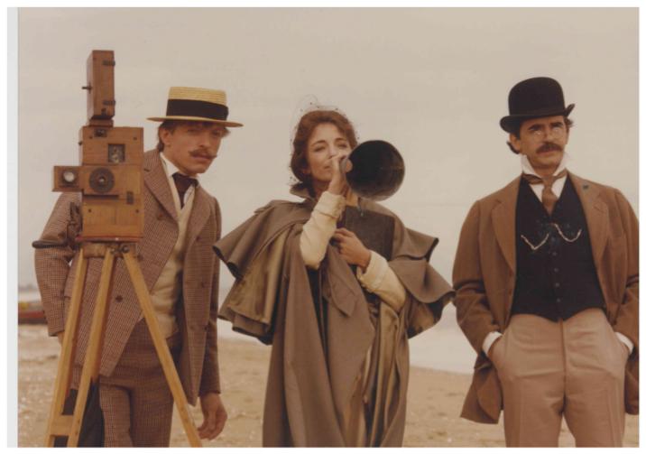 Christine Pascal in Elle voulait faire du cinéma (1983)