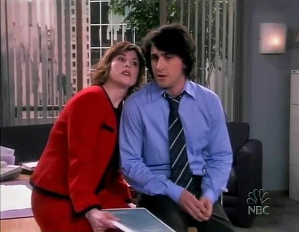 Josh Ackerman and Melanie Paxson in Happy Family (2003)
