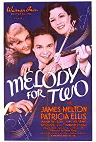 Patricia Ellis, James Melton, and Wini Shaw in Melody for Two (1937)